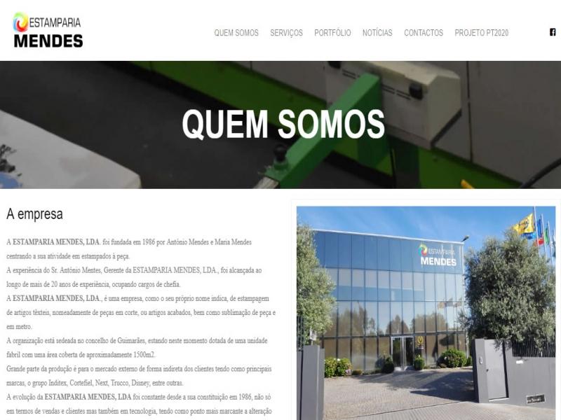 Lançamento do Site institucional